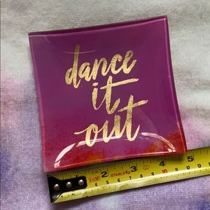 Glass Dance it Out Trinket Tray